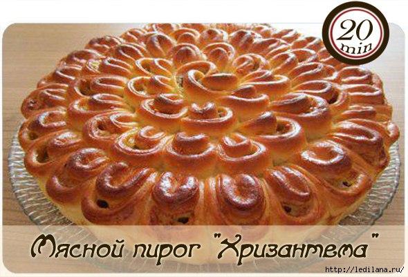 3925311_Myasnoi_pirog_Hrizantema (590x401, 155Kb)