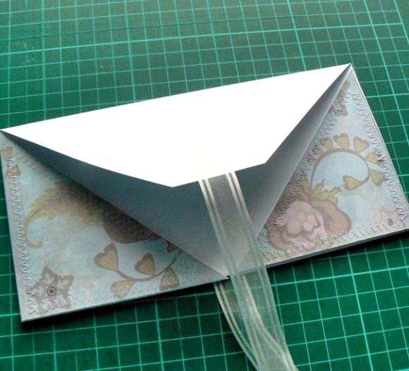 Красивые конверт своими руками