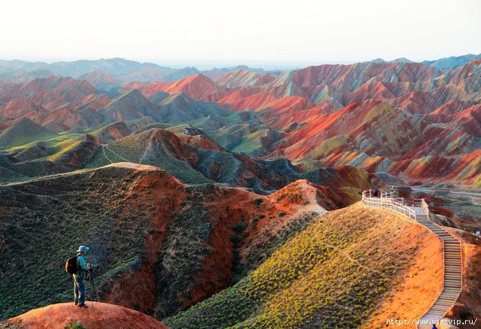 ландшафт Данься в Китае14 (700x479, 324Kb)