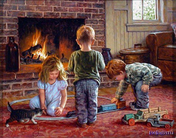 Милые и про детство вот смотря на них