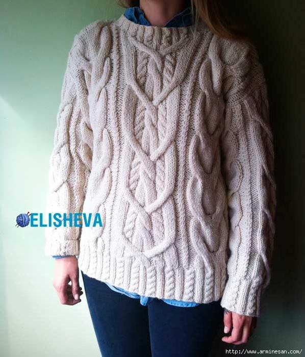 1421698032_vyazanyy-pulover-s-kosami-spicami (598x700, 250Kb)
