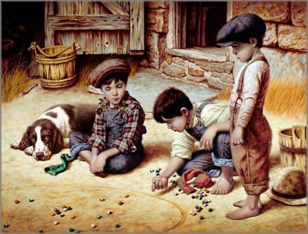Милое детство художник jim dаly
