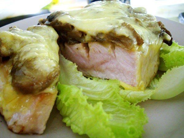Свинина с грибами (600x450, 50Kb)
