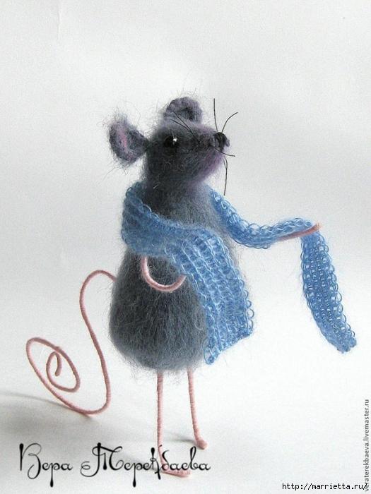 Мышка Сонечка спицами. Описание и мк (18) (525x700, 251Kb)