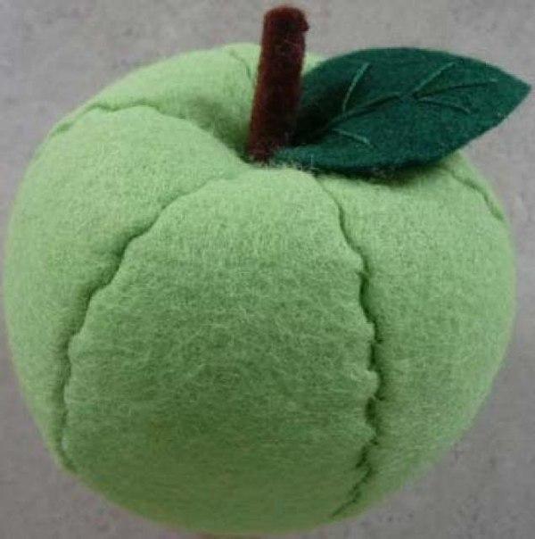 Поделки из ткани яблоко 51
