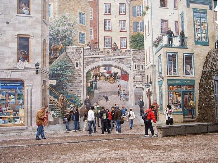 граффити на домах квебека фото 5 (700x525, 432Kb)