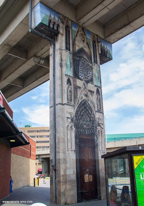 граффити на домах квебека фото 12 (490x700, 442Kb)