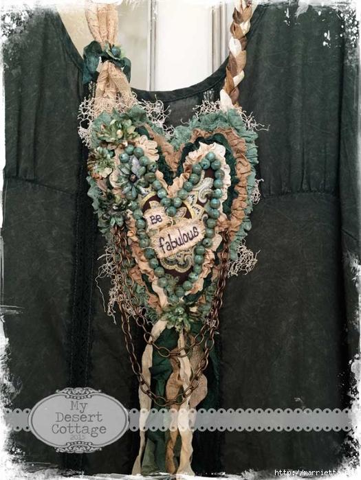 Текстильные подвески - украшения в стиле бохо (4) (525x700, 291Kb)