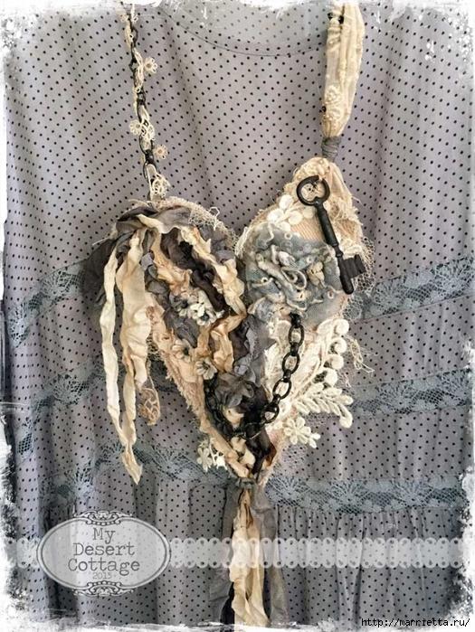 Текстильные подвески - украшения в стиле бохо (6) (525x700, 366Kb)