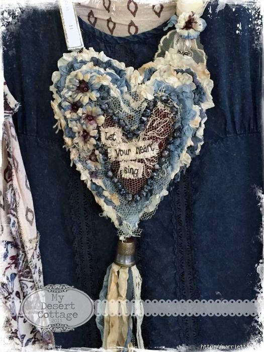 Текстильные подвески - украшения в стиле бохо (8) (525x700, 318Kb)