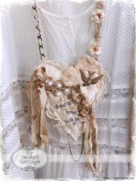 Текстильные подвески - украшения в стиле бохо (10) (525x700, 298Kb)