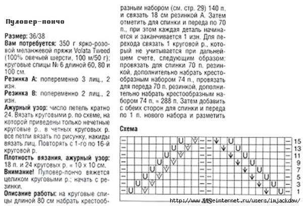 Вязание спицами узоры колосок и схемы 994
