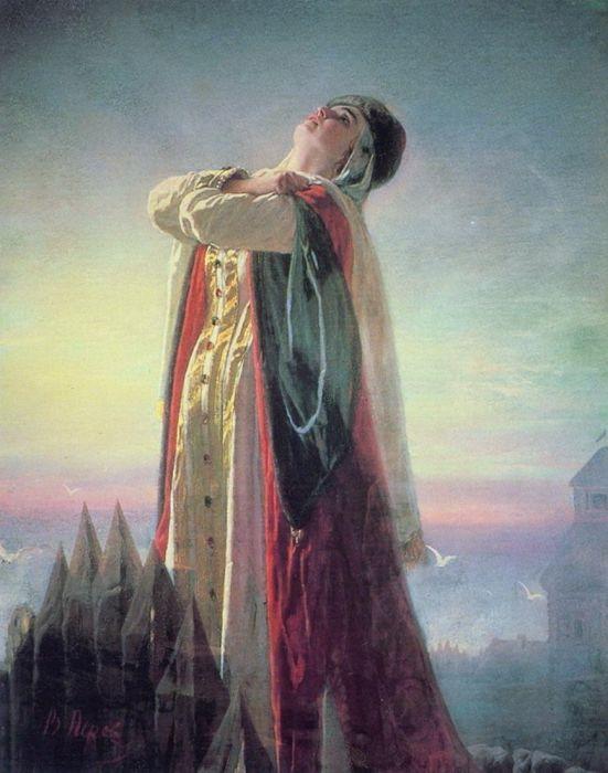 па-де-труа… Перов Василий(Плач