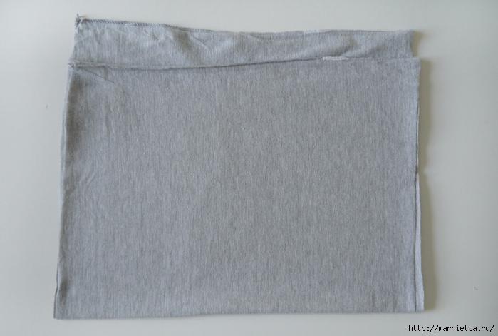 Вязание пряжей из футболок. Как нарезать пряжу (9) (700x471, 181Kb)