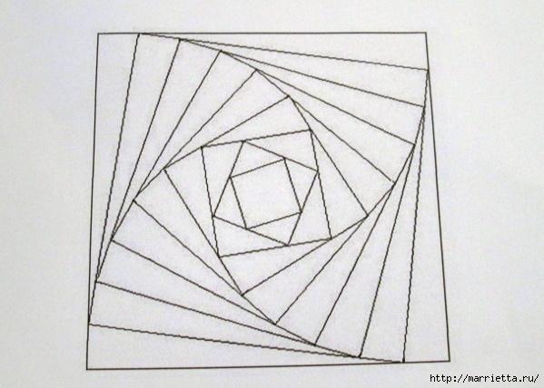 Открытки ручной работы в технике айрис фолдинг (16) (599x428, 106Kb)