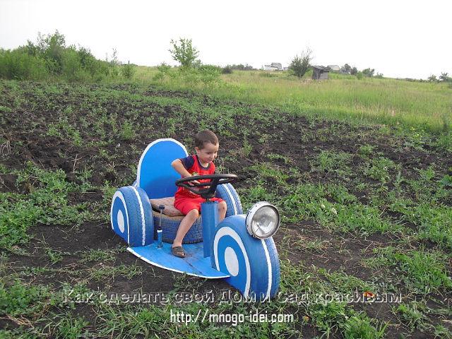 Мотоциклы на детской площадке своими руками фото
