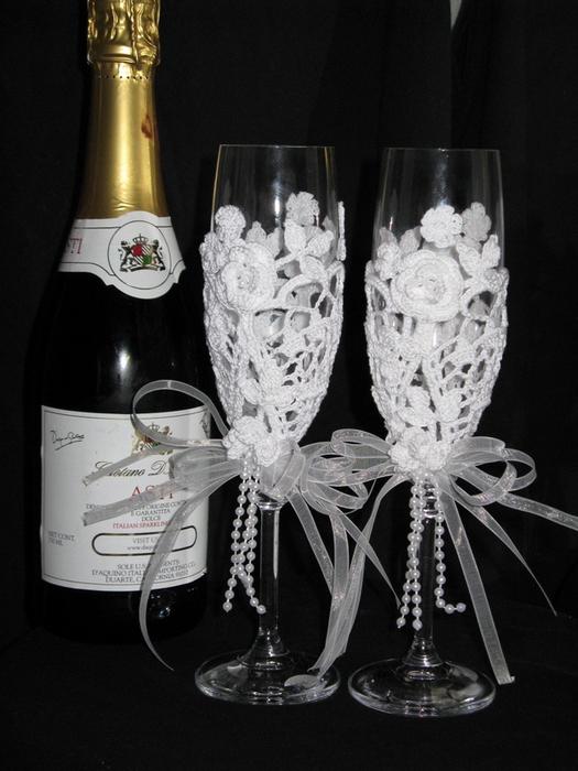 Одежда на шампанское своими руками фото