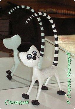 Очень симпатичный котик из папье-маше (255x371, 73Kb)