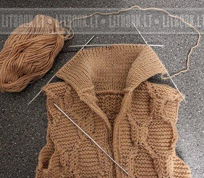 Вязание крючком ковриков для пола из шнура 342
