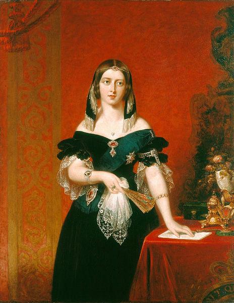 464px-Queen_Victoria_-_Partridge_1840 (464x600, 238Kb)