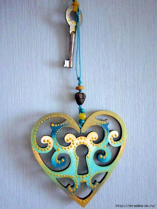 подвеска сердечко, автор Shraddha (3) (525x700, 343Kb)