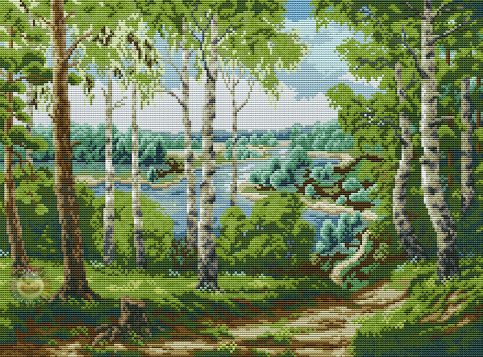 Forest River (700x518, 670Kb)