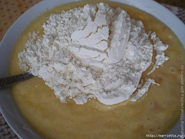 Рецепт медовых кексов с апельсином (3) (600x450, 147Kb)