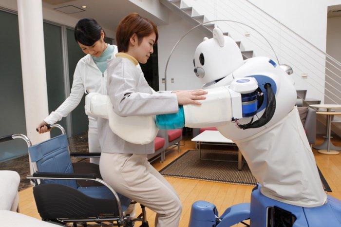 японские роботы RIKEN ROBEAR 1 (700x466, 219Kb)