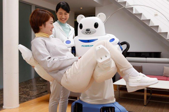 японские роботы RIKEN ROBEAR 3 (700x466, 207Kb)