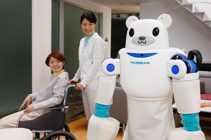 японские роботы RIKEN ROBEAR 5 (700x466, 181Kb)