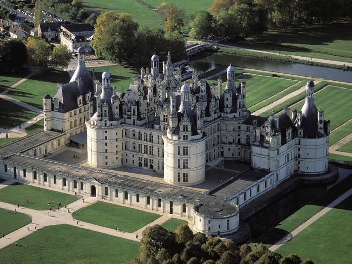 замок шамбор франция 5 (700x525, 436Kb)
