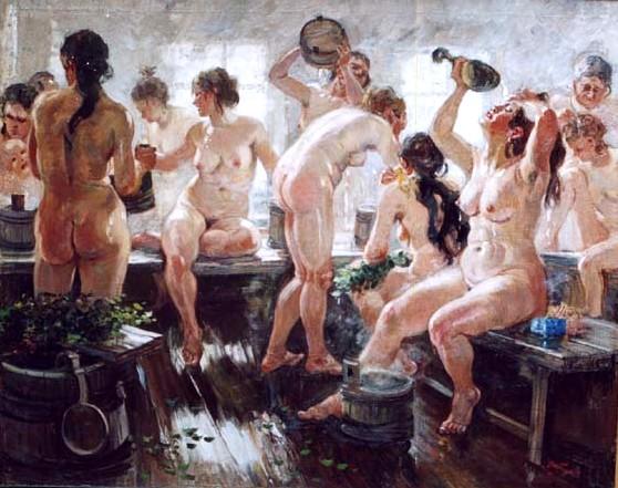 Девочки и мальчики в бане фото 248-533