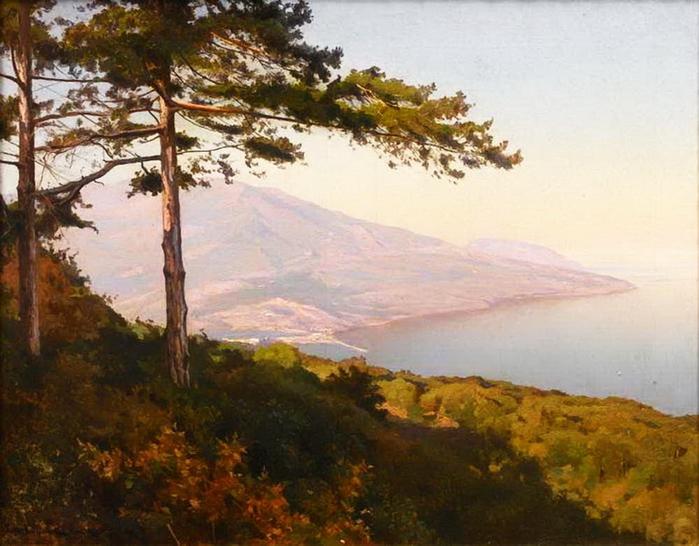 Вид на Ялту. 1902. (700x546, 387Kb)