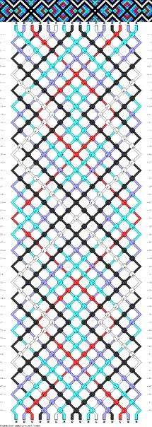 схема для фенечки1 (215x604, 238Kb)
