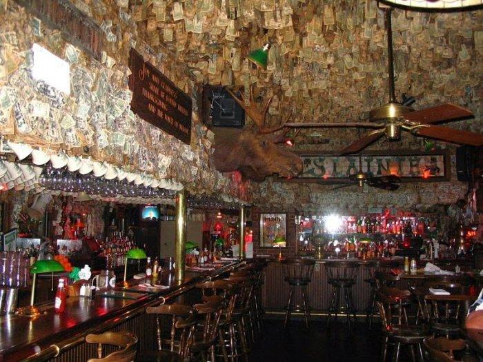 McGuire's Irish Pub долларовый интерьер ирландского паба 2 (700x525, 399Kb)
