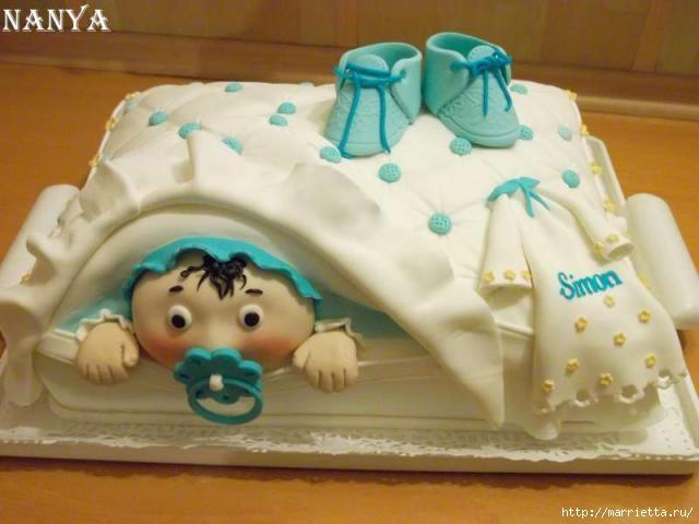 Марципановые торты в честь новорожденного (46) (640x480, 123Kb)