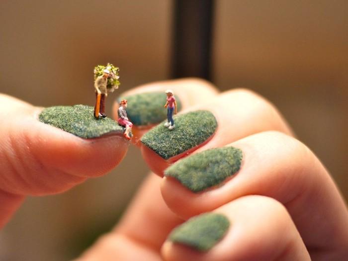 скульптуры на ногтях (700x525, 54Kb)