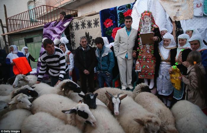 традиционная болгарская свадьба 3 (700x452, 345Kb)