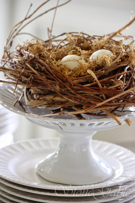 nest+on+cake+plate-stonegableblog.com_ (466x700, 322Kb)
