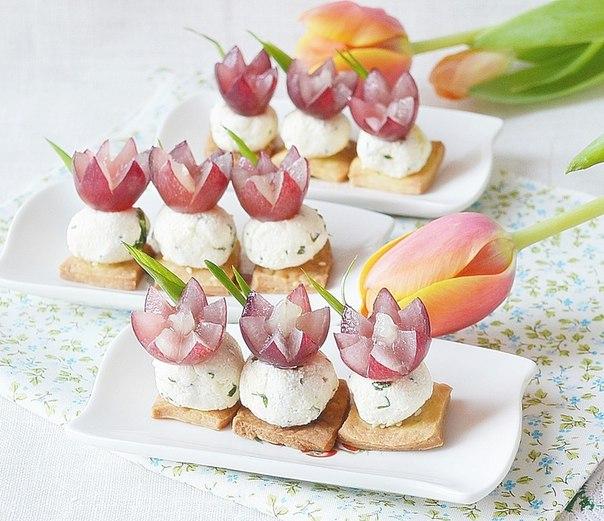 Закуска «Тюльпанчики» к 8 марта!