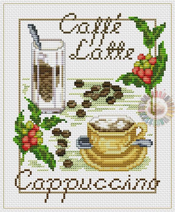 Caffe Latte (577x700, 310Kb)