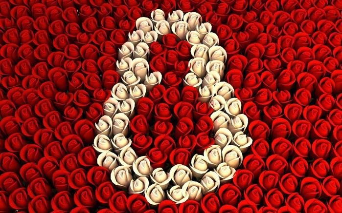 Розы в виде 8 (700x437, 125Kb)