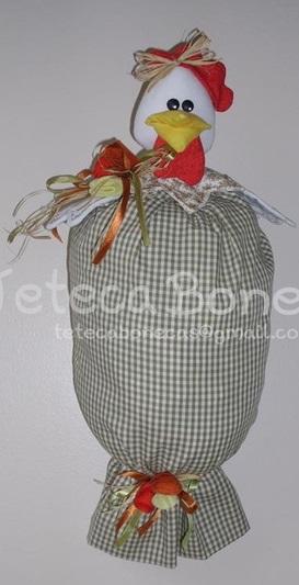 Петушок пакетница своими руками