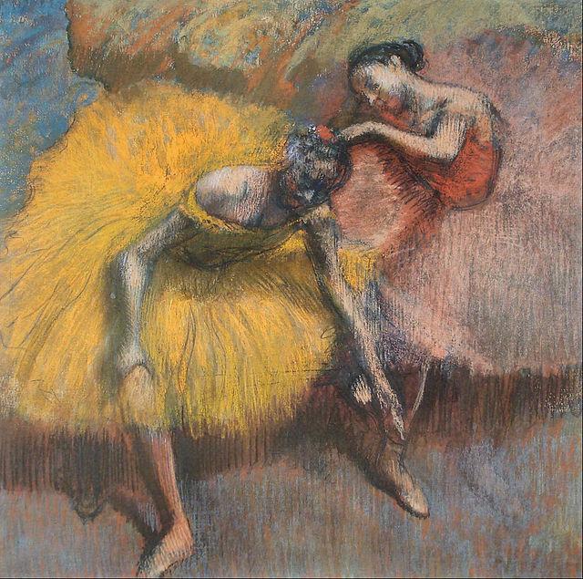 Edgar_Degas_-_Deux_danseuses_jaunes_et_roses_-_Google_Art_Project (640x635, 516Kb)
