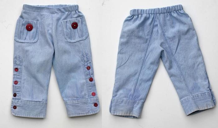 Сшить штаны для мальчика выкройка
