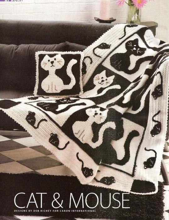 плед с котами (538x699, 310Kb)
