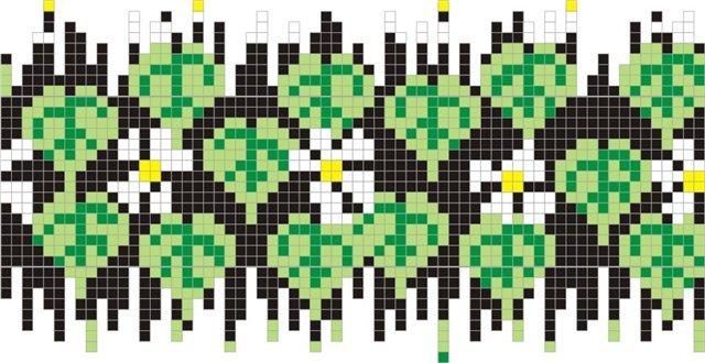 Часть 1 - Схема плетения яиц