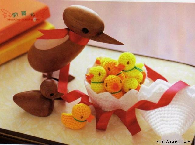 Цыплята амигурами в яйце крючком. Схемы (1) (641x475, 173Kb)