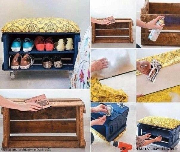 Мебель своими руками для дома фото