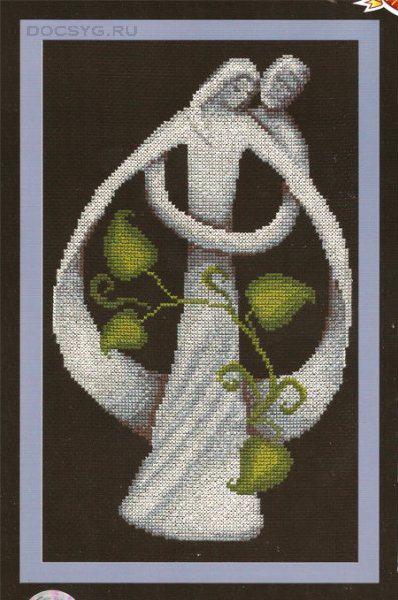 схема вышивки Супружество (398x600, 202Kb)